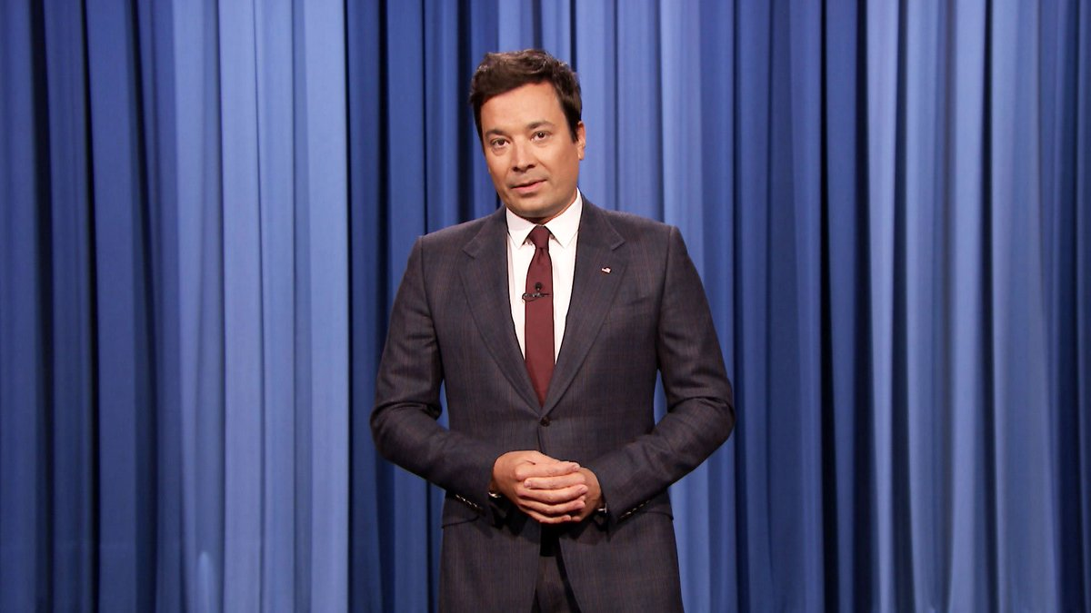 Jimmy takes a moment at the start of the show to address the events in #Charlottesville