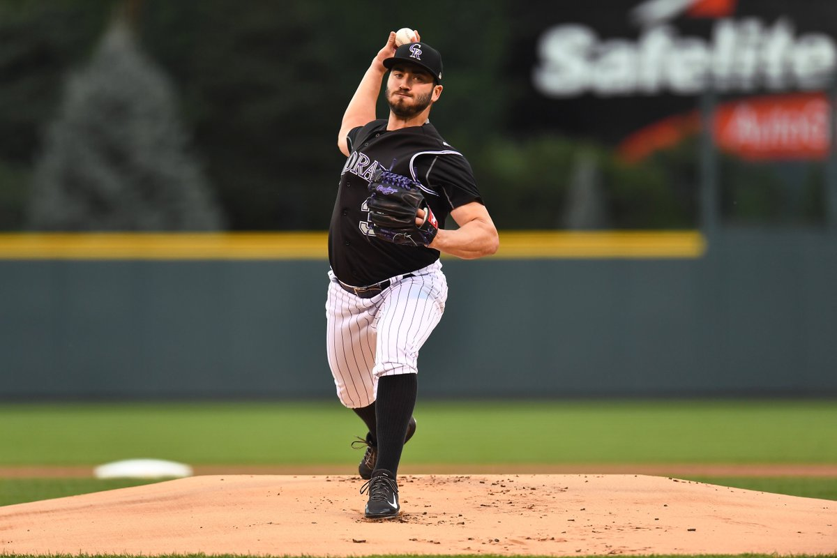 Rockies' Chad Bettis Throws 7 Shutout Innings in 1st Start Since Beating Cancer