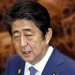 Japan PM Shinzo Abe sends ritual offering to war dead shrine on World War 2 surrenderanniversary