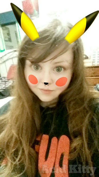 1 pic. This pikachu filter is too fucking cute!! https://t.co/It1IhcGCbs