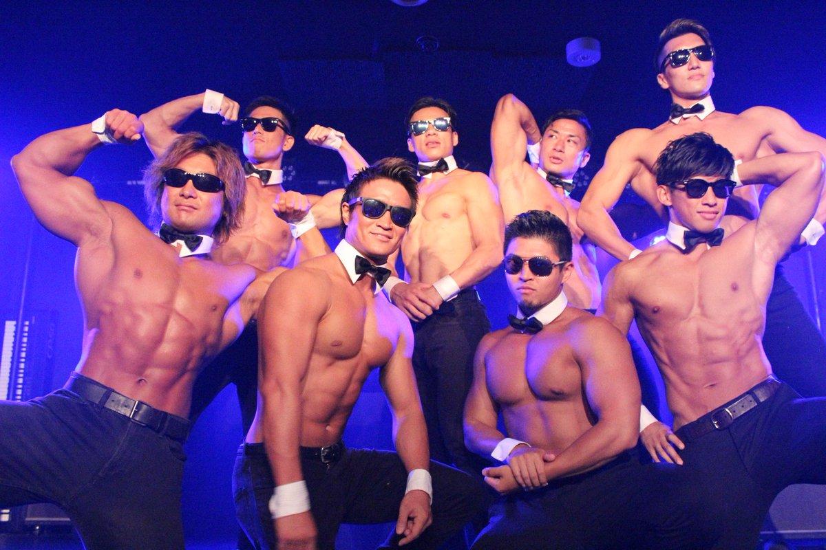 #ALLOUT #マッスルカフェ #筋肉紳士夏の3公演お疲れ様でした😊それぞれの写真になります。保存ご自由に♪東京福岡名