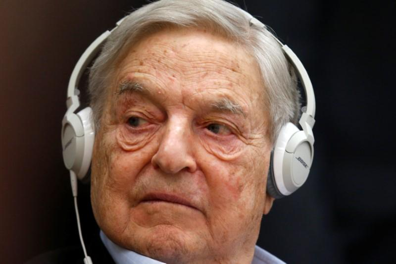 Some Soros Fund holdings may profit if stocks fall: SEC filings