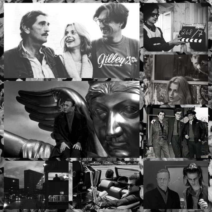 """Without dreams, there can be no courage. And without courage, there can be no action.\"" Happy birthday, Wim Wenders."