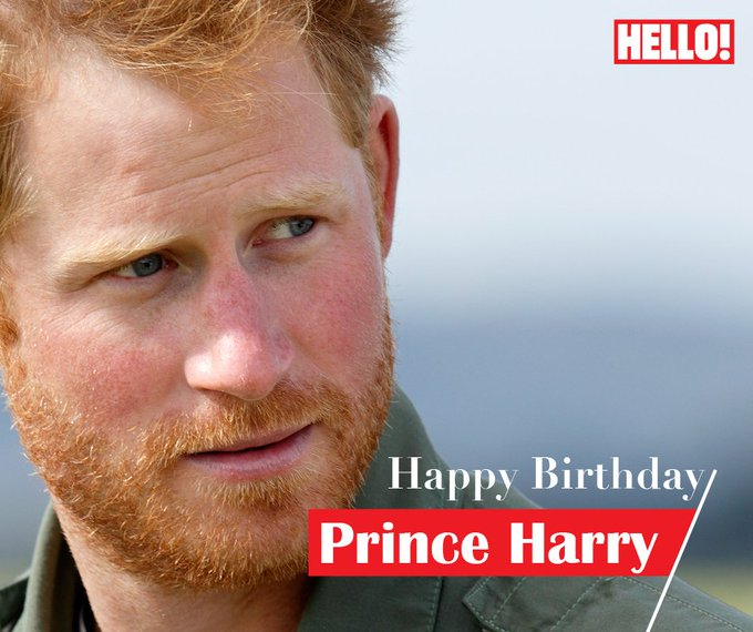 HELLO! wishes Prince Harry a very Happy Birthday