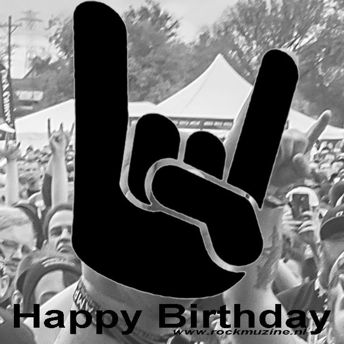 Happy birthday Tommy Aldridge