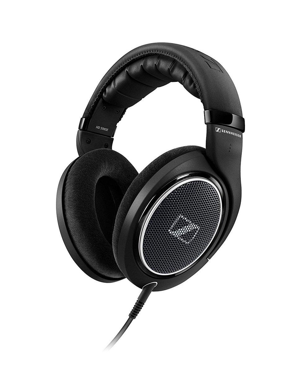 Sennheiser HD 598 SE Over-Ear Headphones (Black) is now available at ₹8999...