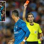 Cristiano Ronaldo's 10 career red cards