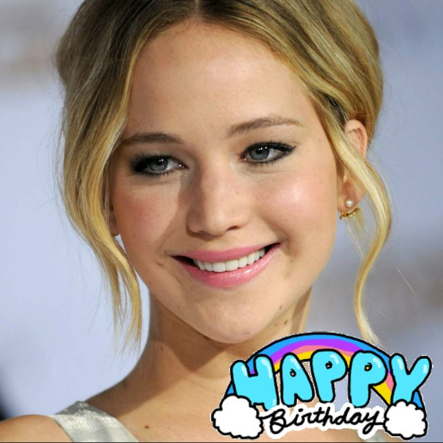 Happy Birthday Jennifer Lawrence