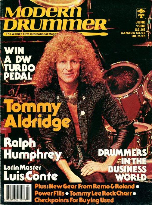 Happy Birthday to Tommy Aldridge