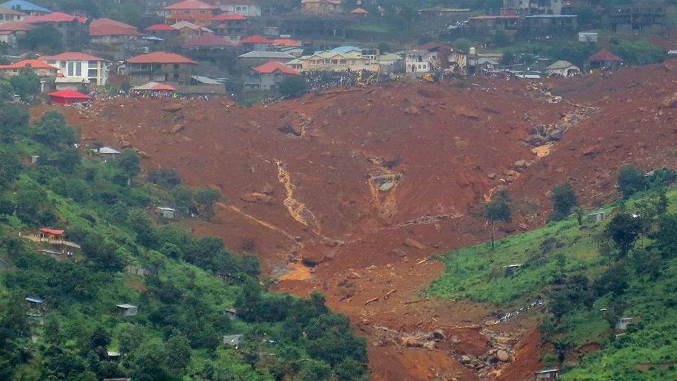 At least 600 missing in deadly Sierra Leone mudslides