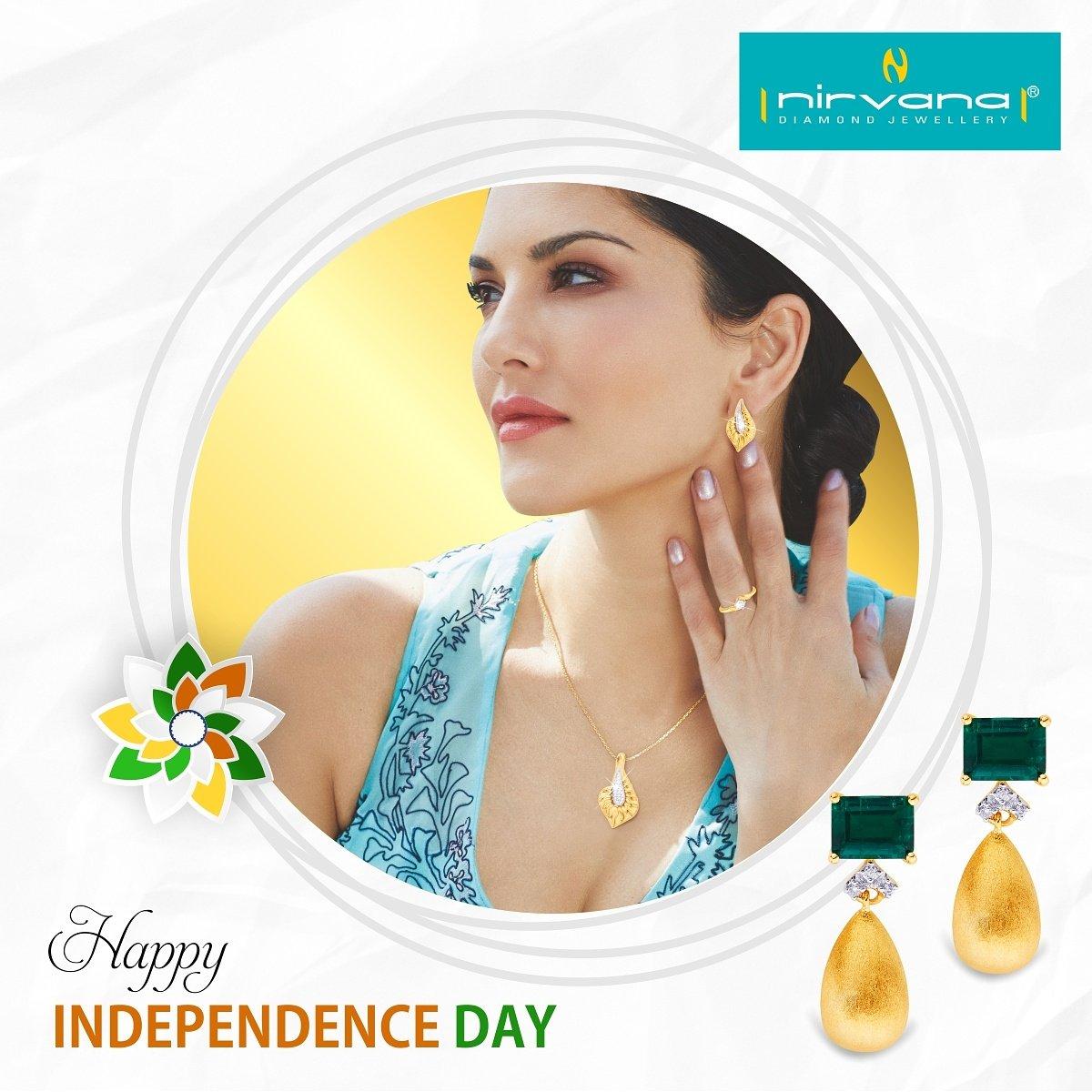 Celebrate #IndependenceDay with  Buy 1 #diamondjewellery and get 1 FREE at