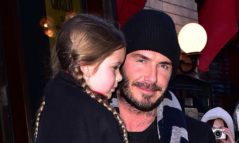 DavidBeckham has built a Disney castle for his daughter Harper & now we want one too!