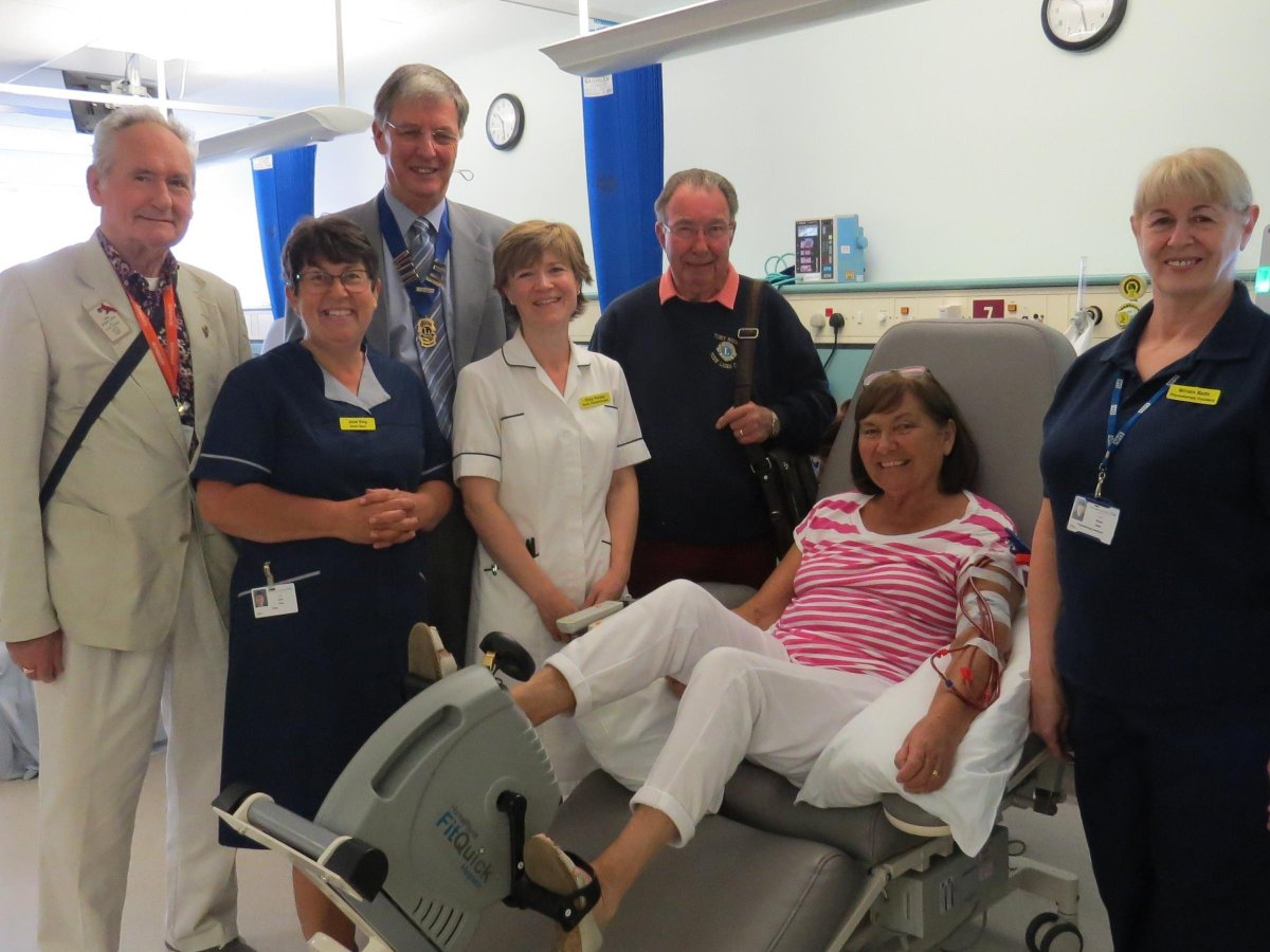 Hospital renal unit thanks Lions