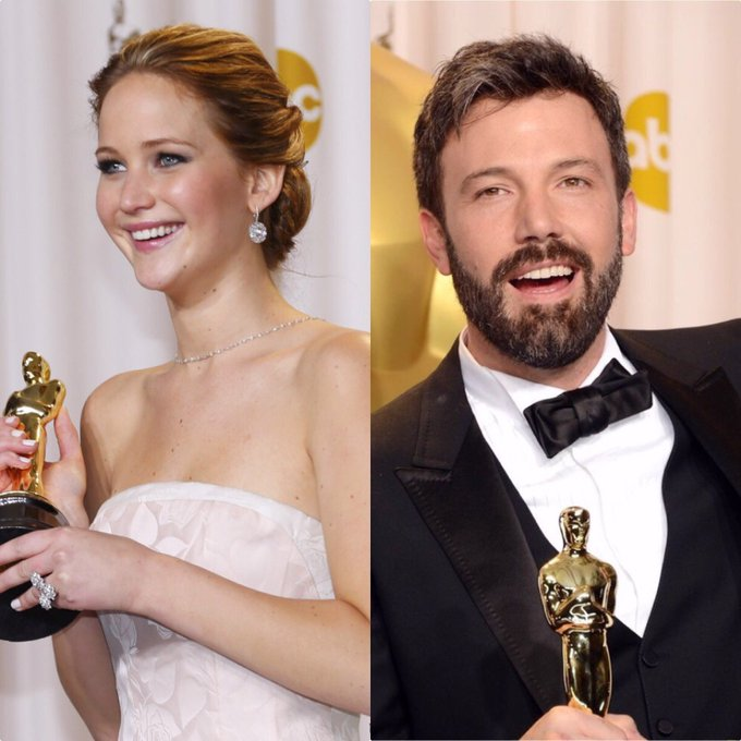 Happy Birthday to the highest-paid actress in the world Jennifer Lawrence & to our favorite Batman Ben Affleck