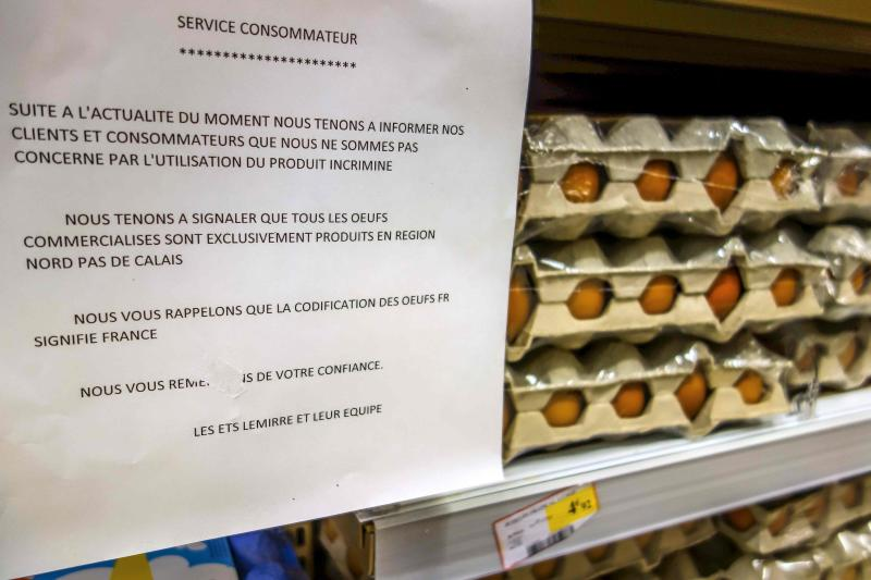 Hungary pulls tainted egg products from shelves