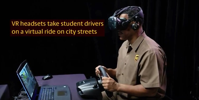 Read about how the team at @UPS is utilizing the @htcvive to help train their...