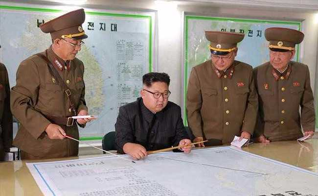 North Korea Maps Out Detailed Plan For Missile Launches To Sea Off Guam