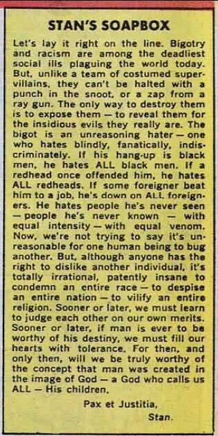 As true today as it was in 1968. Pax et Justitia - Stan https://t.co/VbBtiZzUch