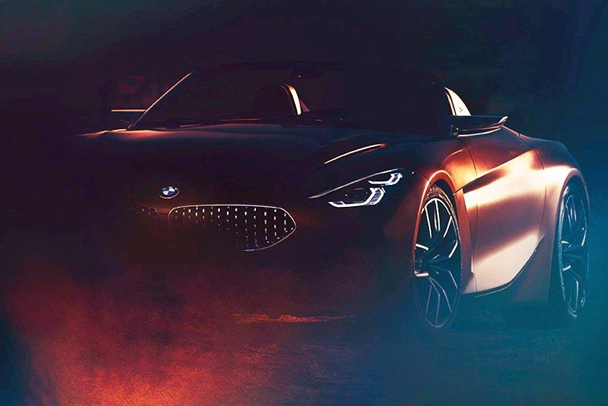 BMW привезет новый родстер на конкурс элегантности