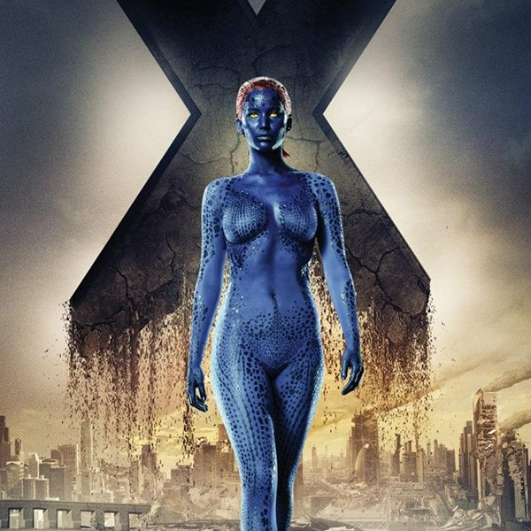 Hoy cumple nuestra mystique! Happy Birthday Jennifer Lawrence!