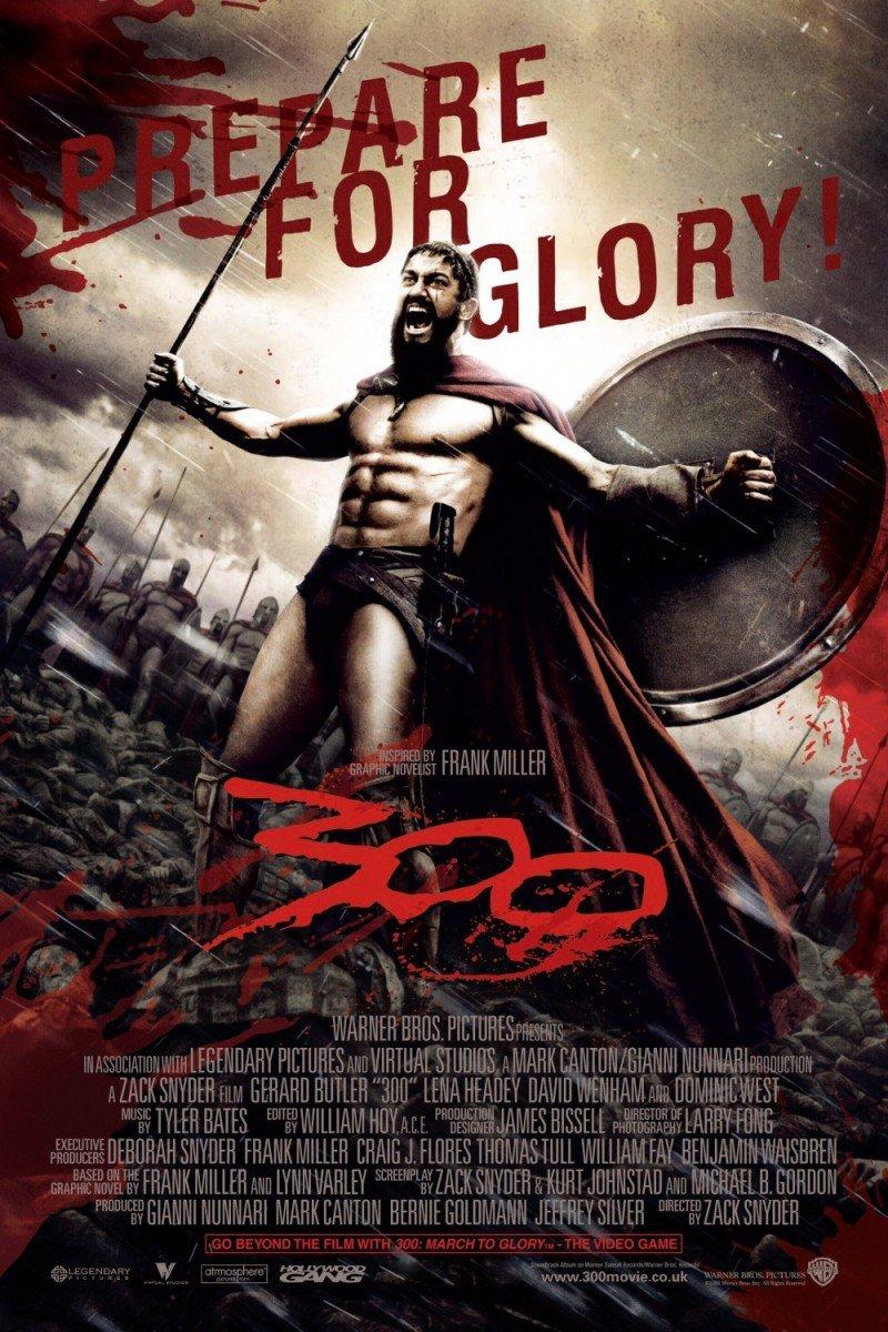 そういえば、テルモピュライの戦いのスパルタ軍をカッコよく描いた「300〈スリーハンドレッド〉」という米国映画(200