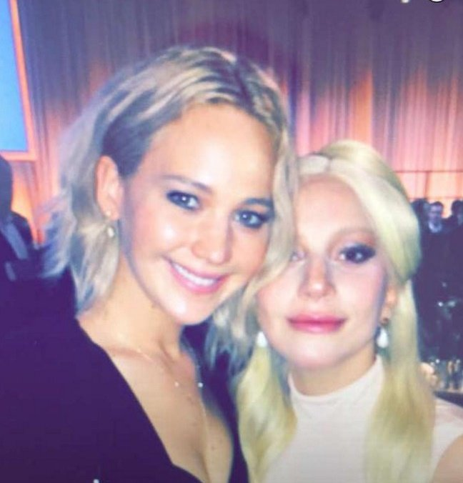 Happy Birthday, Jennifer Lawrence   Lady Gaga