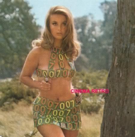 "Happy birthday to \""unofficial\"" bond girl Barbara Bouchet! -"