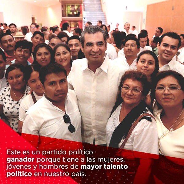 Somos la mejor alternativa para el avance y el desarrollo del país. #SomosPRI #TuVozPRImero https://t.co/9Fg9CqqVIS