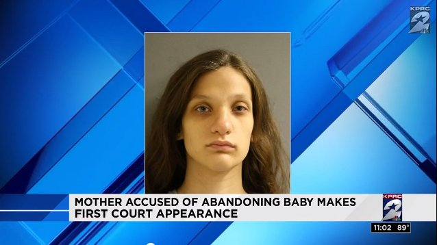 Mother charged after newborn left in Houston flower bed