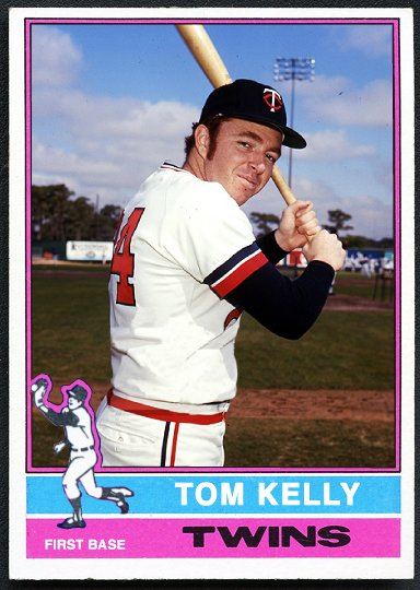 Happy 67th birthday to former skipper Tom Kelly! Here\s a custom 1976 card to celebrate!