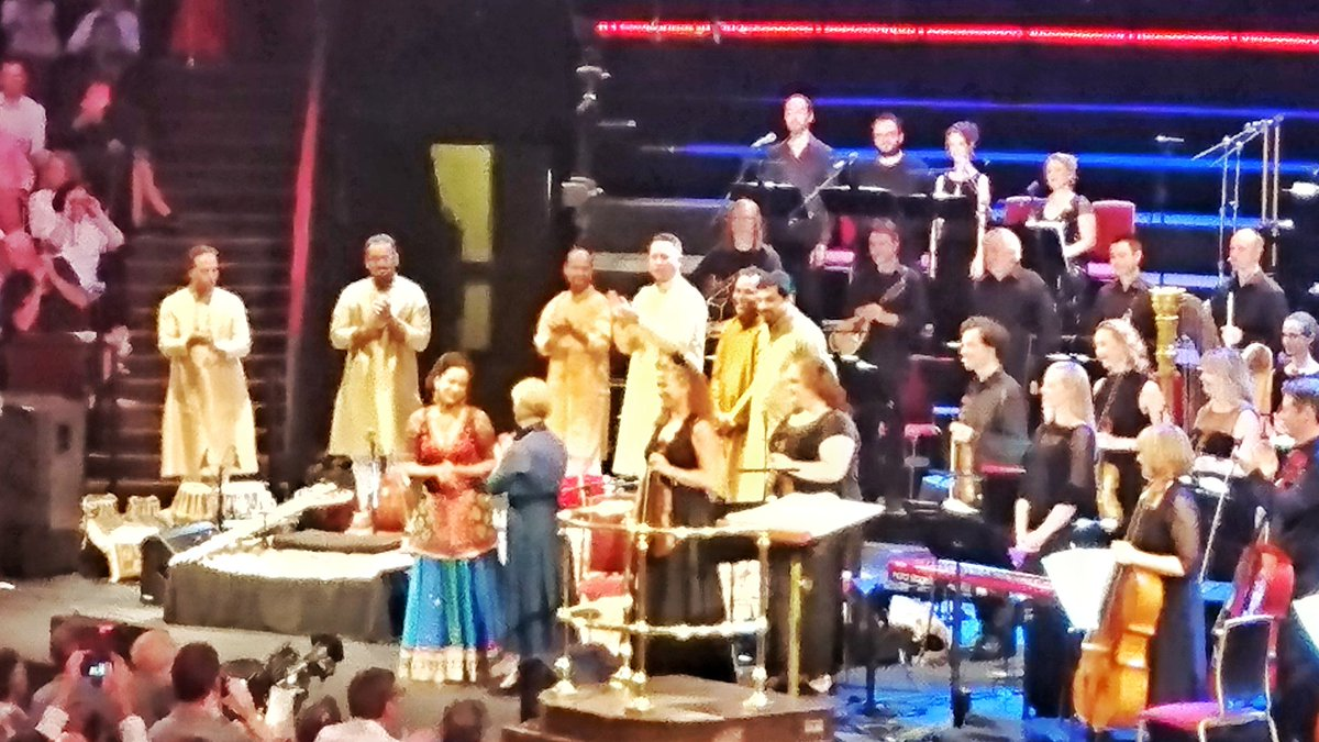 test Twitter Media - Celebrating a synthesis of Eastern &Western music-Prashanti truly touches the soul #PhilipGlass @BrittenSinfonia @ShankarAnoushka #BBCProms https://t.co/YvyYLdHhNB