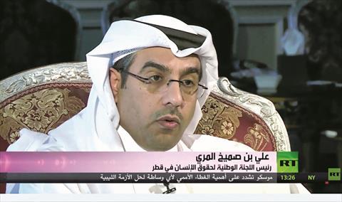 د. علي المري: 80 % من مواطني دول الحصار فضلوا البقاء في قطر