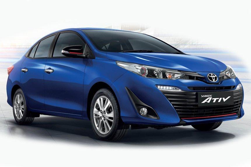 Toyota Yaris Ativ: народный седан для Азии