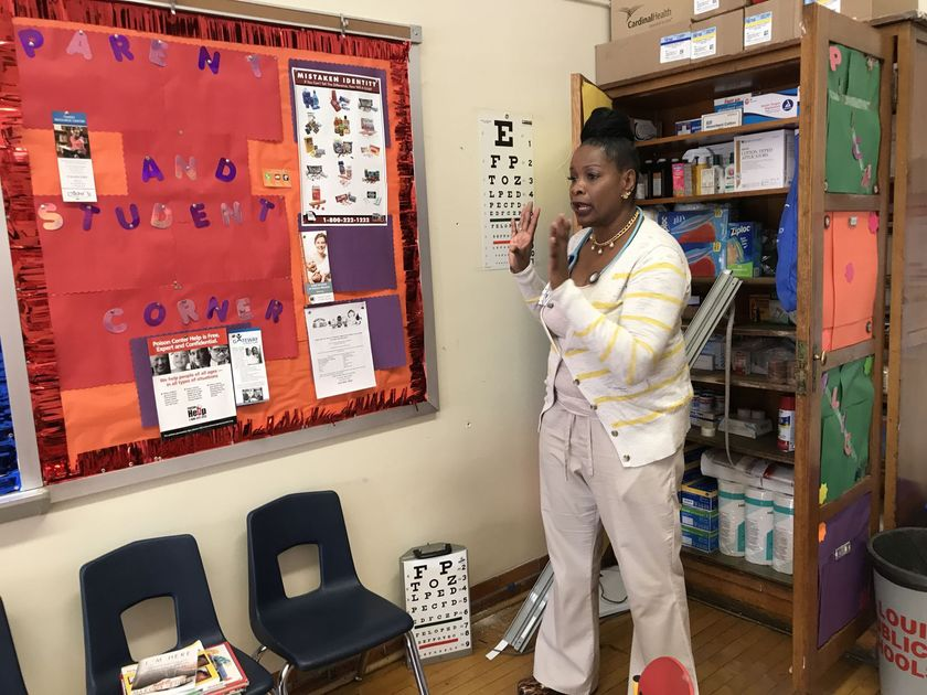 Four hospital nurses switch to work in St. Louis schools