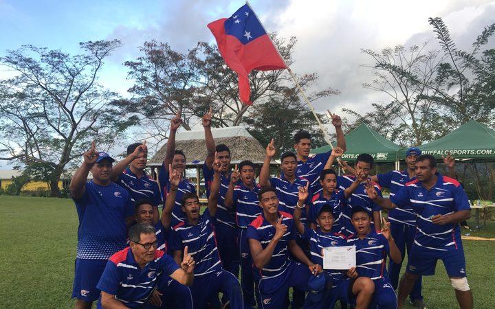 Sport: Samoa cricketers finish on winning note