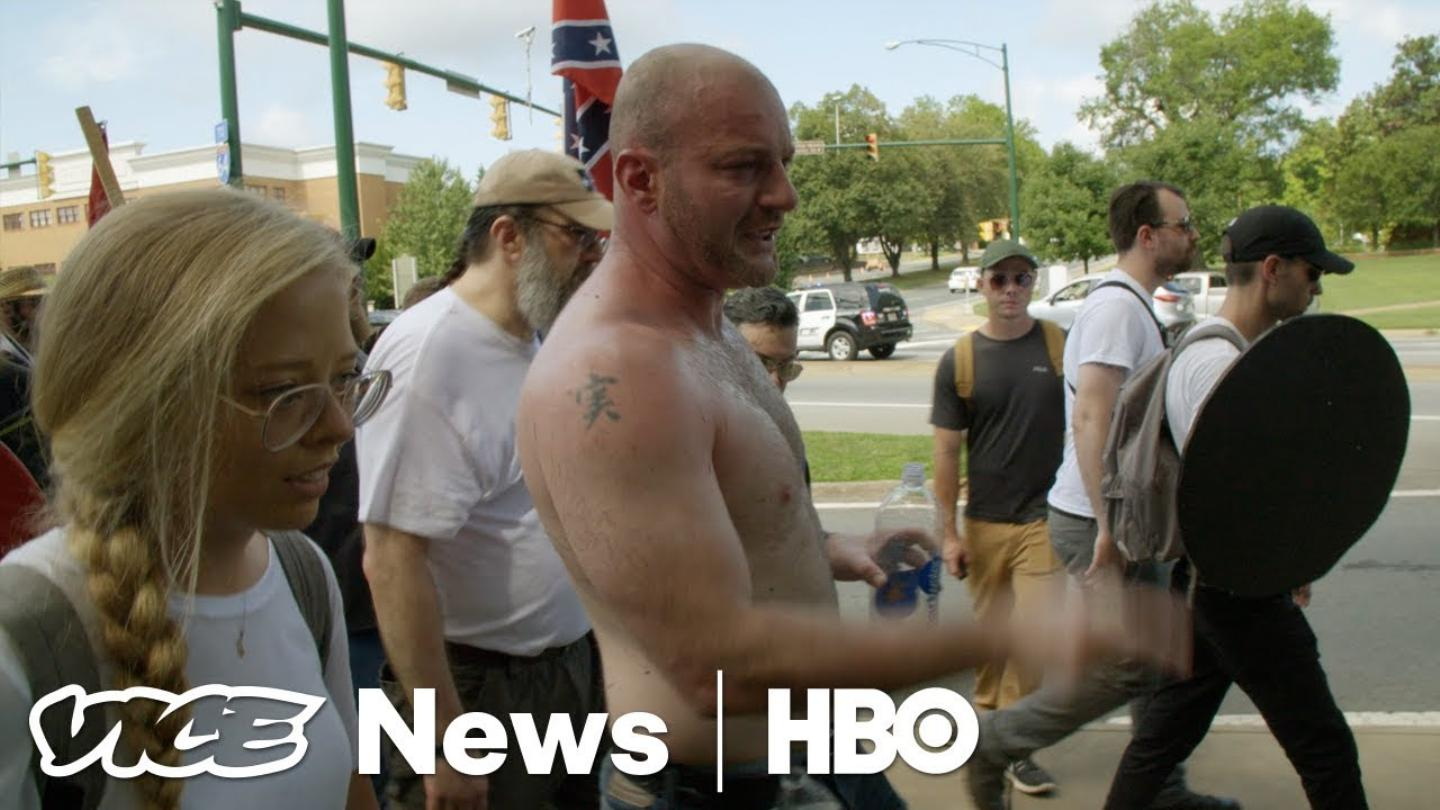 Watch @vicenews' full report from the front lines in Charlottesville: https://t.co/6QgDdm0zF9 https://t.co/NJbxEd1FKL