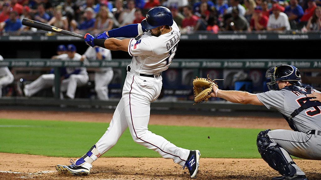 The definition of #Crushed?  This @JoeyGallo24 home run. https://t.co/tfCFBd4LnF