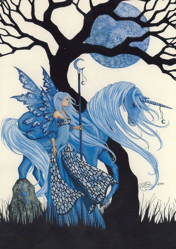 test Twitter Media - The magical world of blue fairies! #fairy #unicorn #artbyamybrown https://t.co/Ih8CQPvi1p