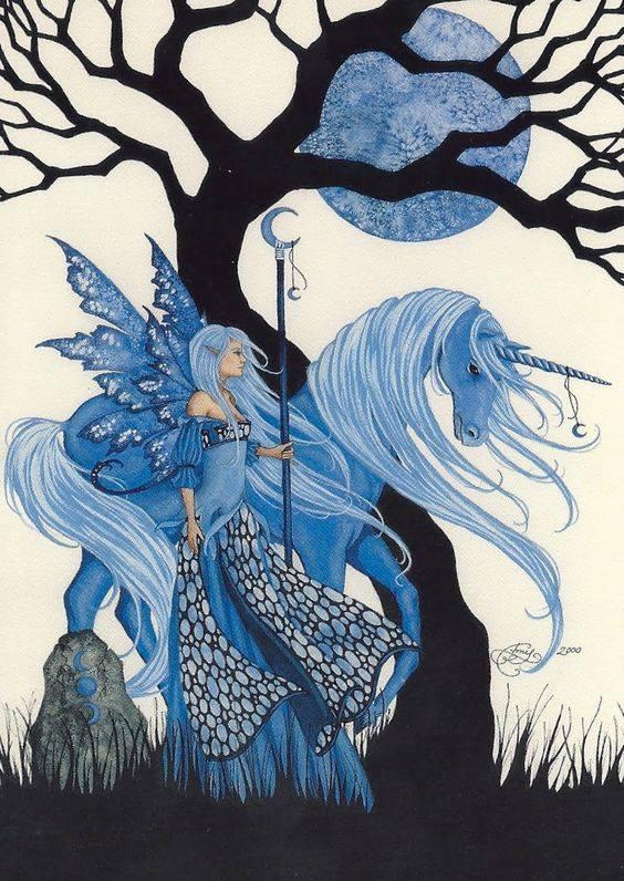 test Twitter Media - The magical world of blue fairies! #fairy #unicorn #artbyamybrown https://t.co/Ih8CQPvi1p