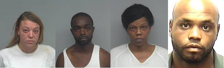 4 arrested after police find drugs in New Albany home