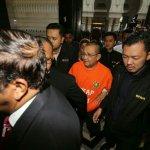 Isa arrives at Putrajaya Magistrates Court for remand hearing