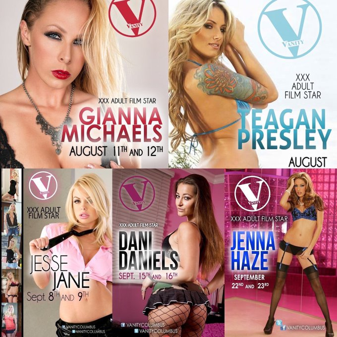 Aug 25-26: #Columbus #Ohio I'll be dancing at @VanityColumbus  Excited to play with you.  Photos&lapdances