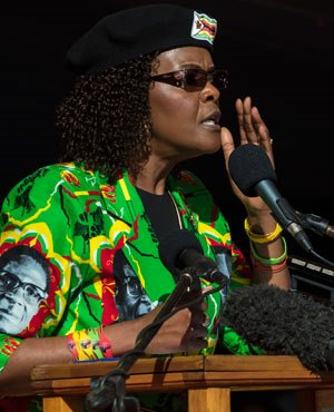 Grace Mugabe: Zimbabwe's fiercely loyal first lady