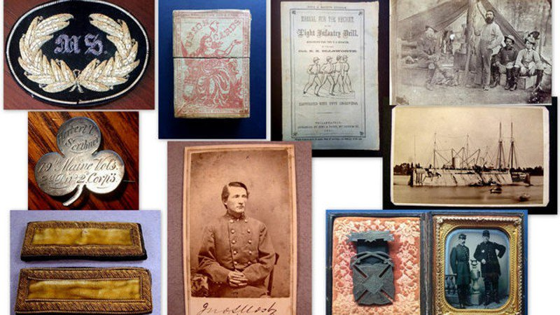 Valuable Civil War collectibles stolen from car