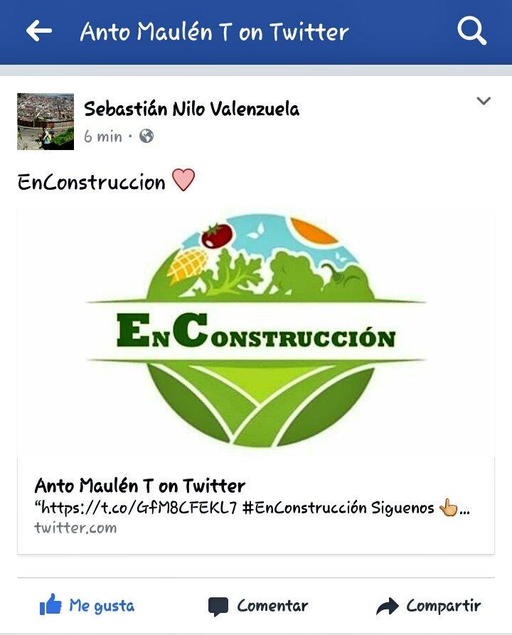 #EnConstrucción Busca 👆 en Facebook, Dale 👍 Y Enterate más acerca de este Proyecto!!  #LaPeorExcusaQueTePuedenDar https://t.co/HEfCjN2MmY