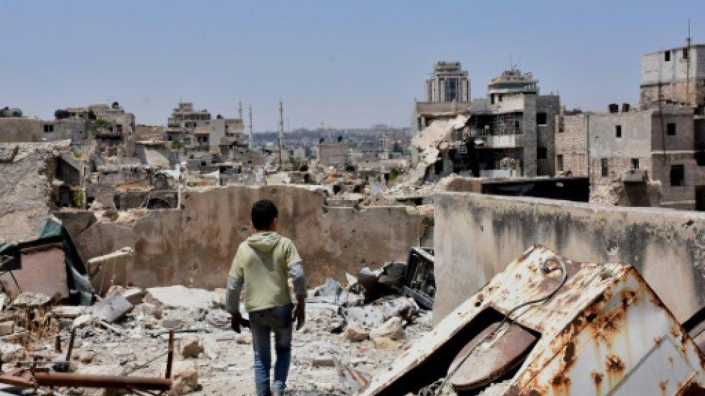 Rebel rockets kill five in Syria's Aleppo: monitor