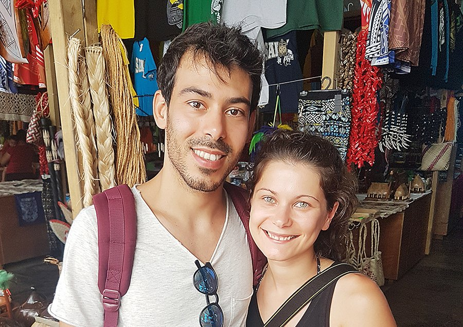 From Italy to Samoa: couple impressed by fale-style living