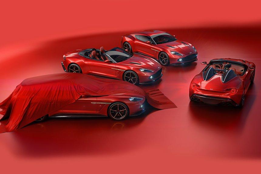 Семейство Aston Martin Vanquish Zagato: добавлены спидстер и универсал
