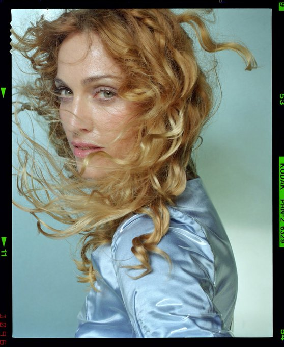 Happy Birthday, Madonna! for \Ray of Light\, 1998, Photo by Mario Testino