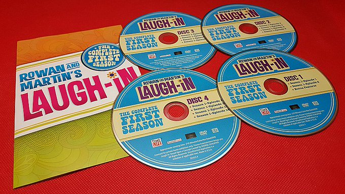 Giveaway – Rowan and Martin's Laugh-in DVD – 5 Winners – Ends 9/7/17